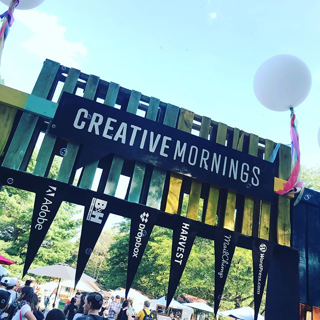 CreativeMornings Summit Camp first night #CMsummit18 #creativemornings