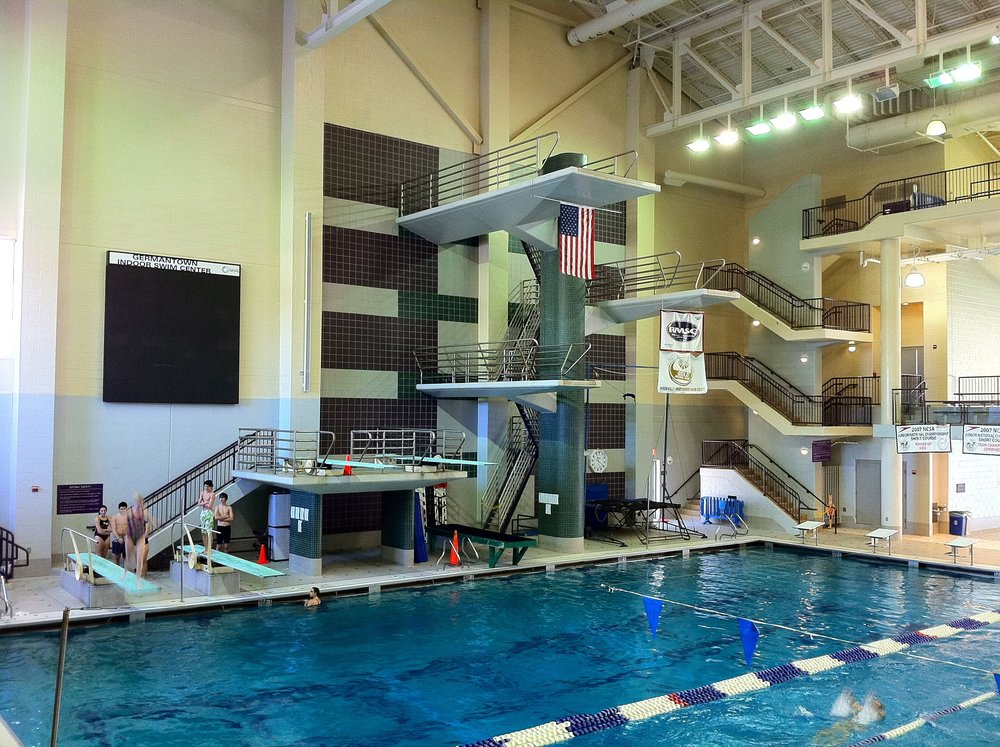 The Germantown Indoor Swim Center in Boyds, Maryland.