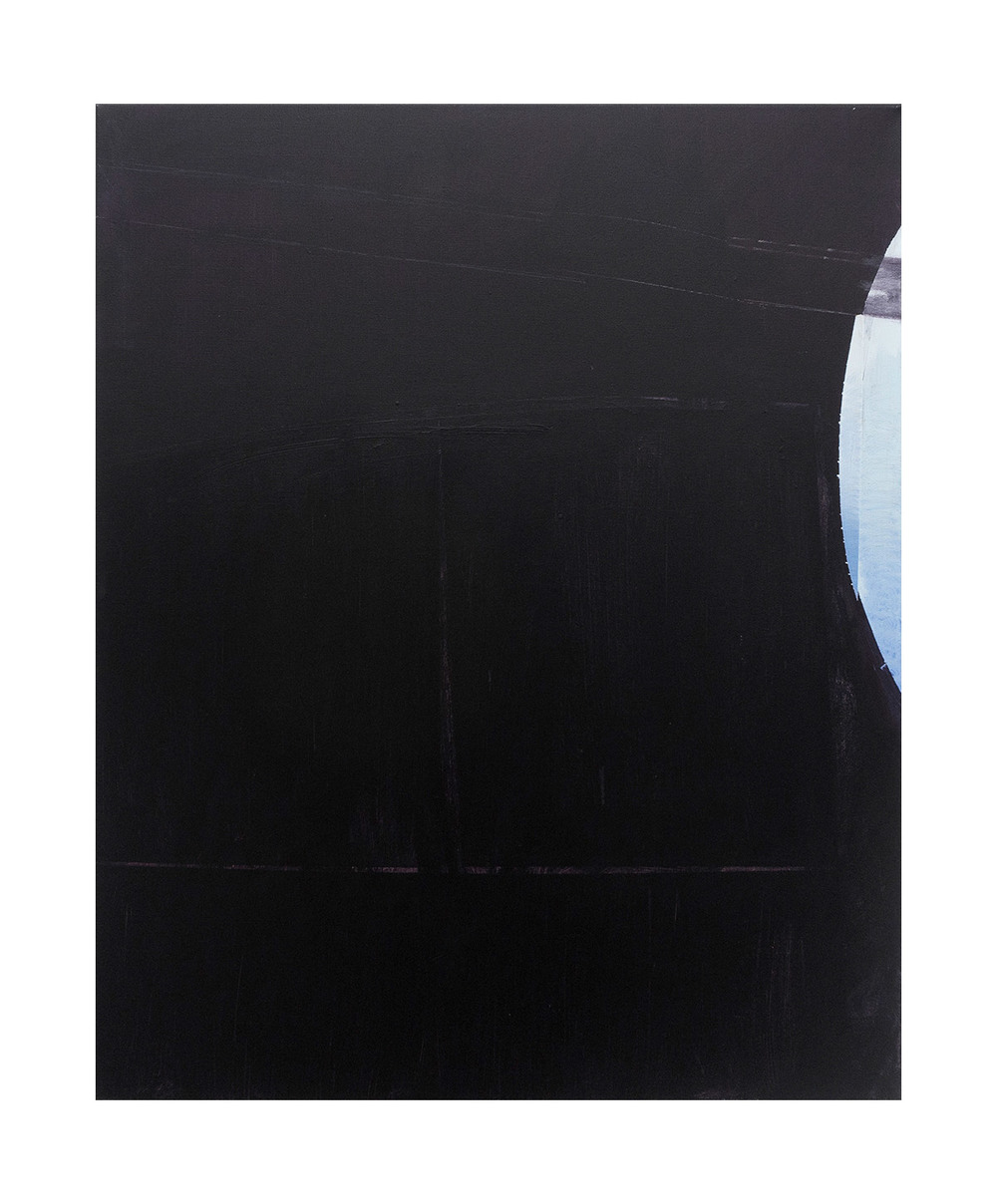 Untitled (black sail) 2014