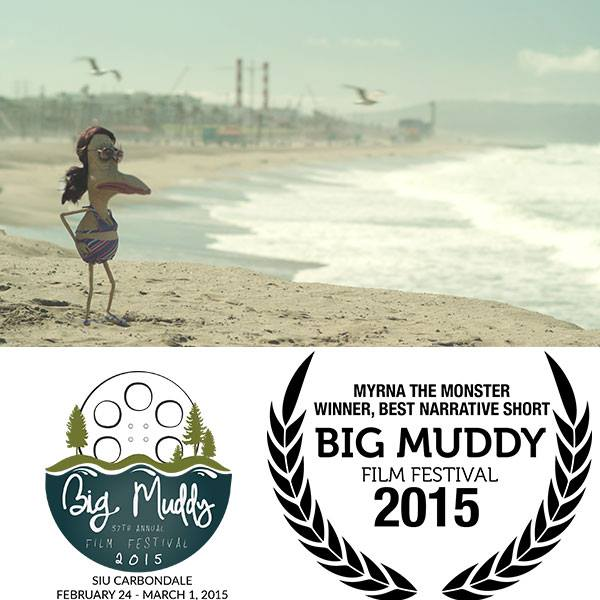 Myrna the Monster wins Best Narrative Short at Big Muddy Film Festival 2015