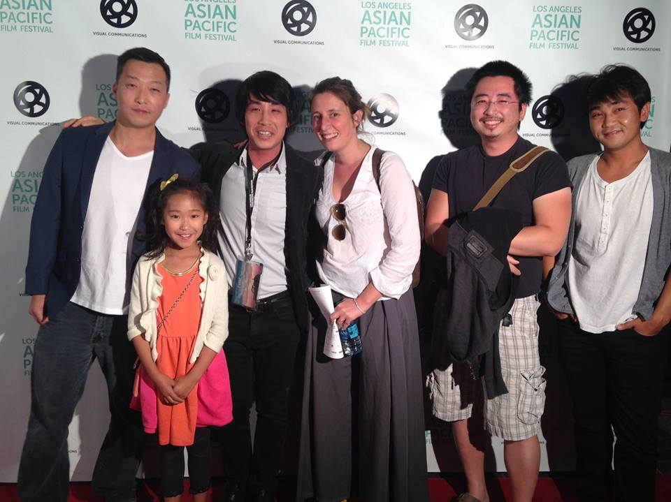Cast&Crew at the premiere of Frank&Kass at LA Asian Pacific Film Festival in June 2015!