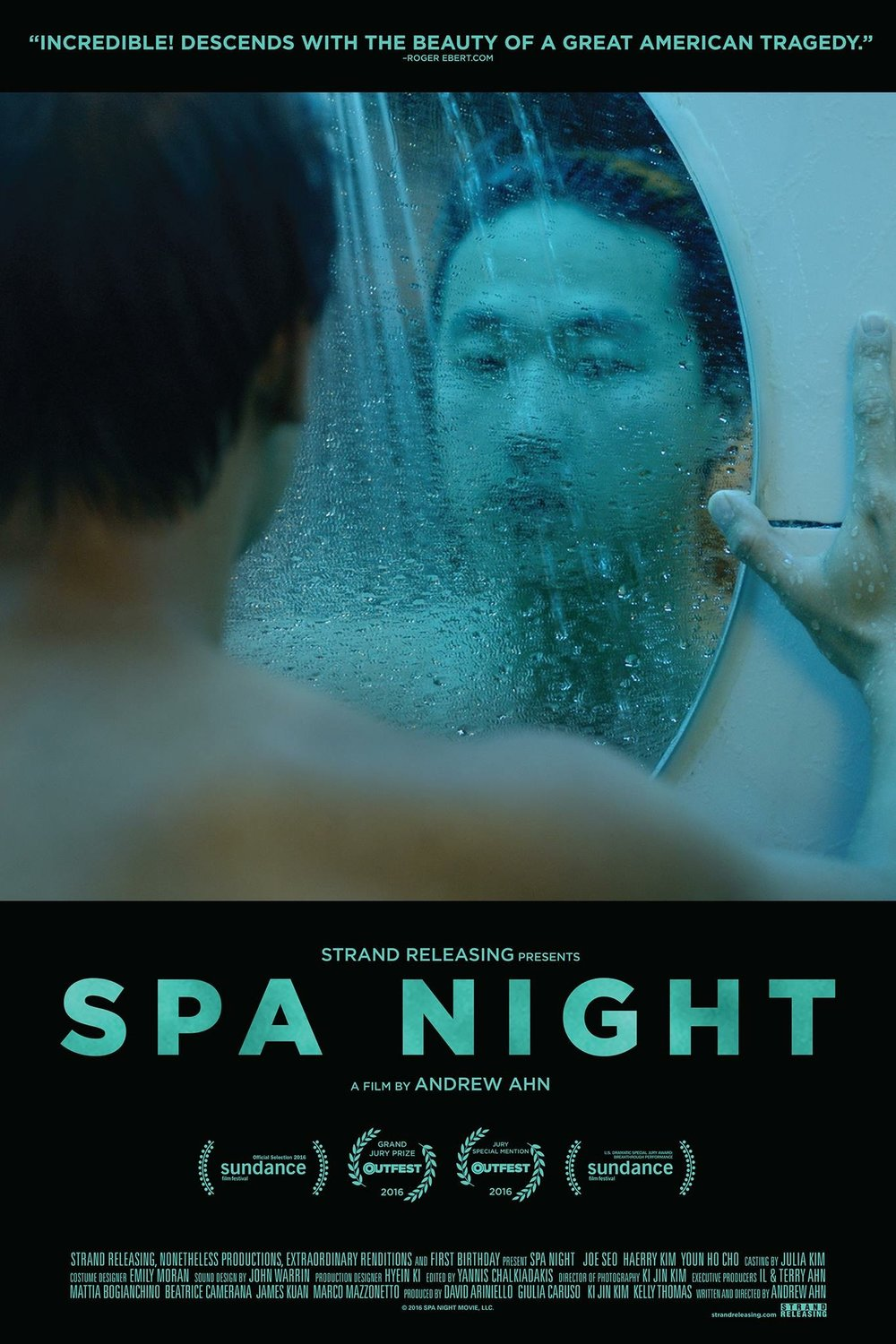 The theatrical poster for SPA NIGHT!!!
