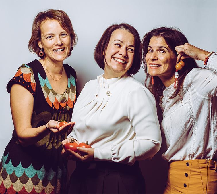 Maria Canabal na 1ª edição Mulheres com Tomates em Lisboa