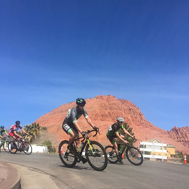 It is race day! Thanks for the pic @jaceheger. #desertcitycritseries