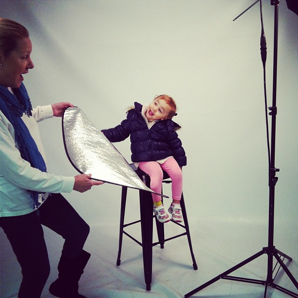 Sofie Bleu and Grndma on set m101_school.jpg