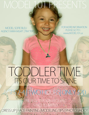 TODDLER TIME: IT'S OUR TIME TO SHINE!!!
