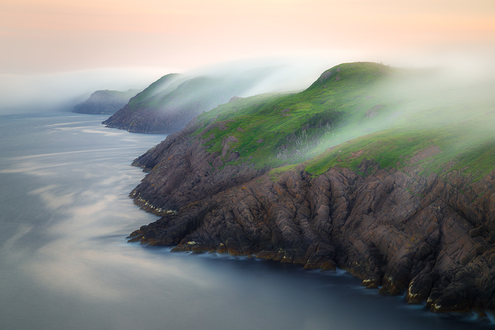 Cape Spear Rolling fog