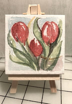 Tulips miniature
