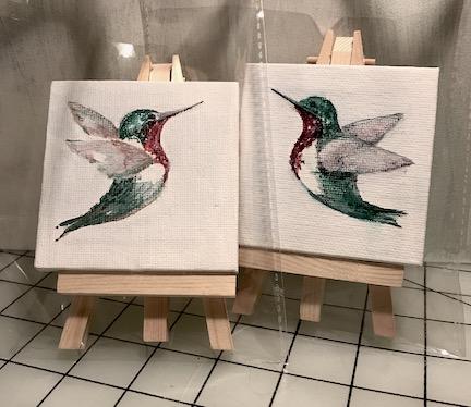 Hummingbird Pair