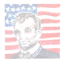 study for A. Lincoln portrait ellefagan19
