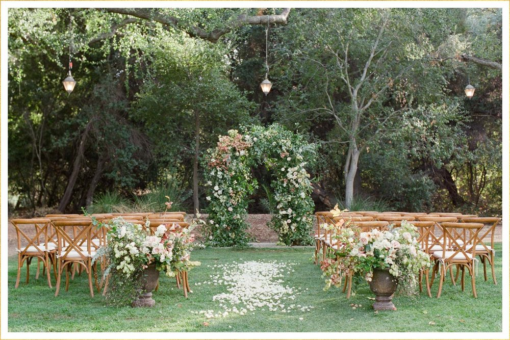 Wedding Aisle Dcor Ideas Galore Risa James Events Sacramento