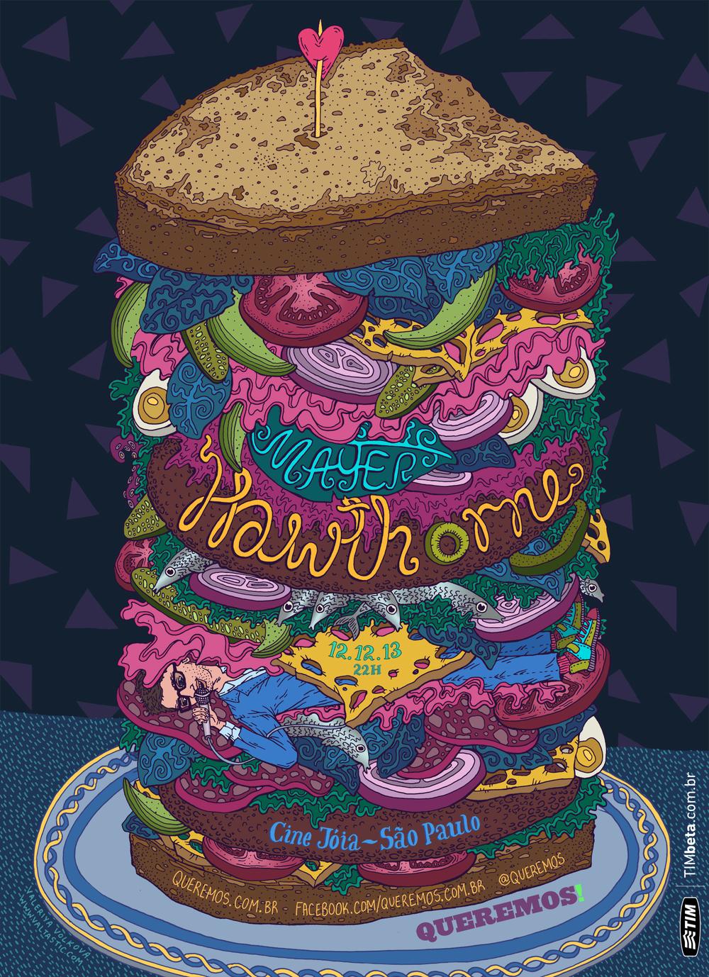 Mayer Hawthorne Poster