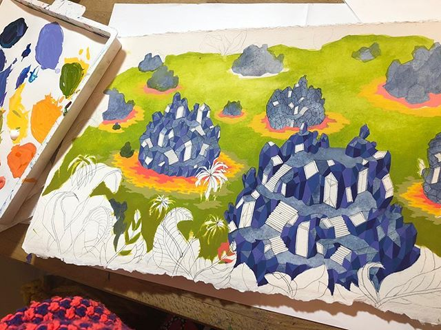 swampy thing in progress 🌱⛰
