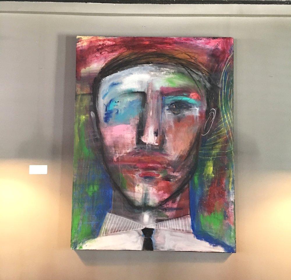 White Collar | $1340 | 36x48