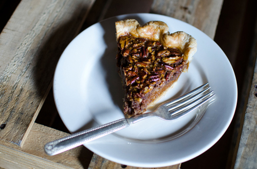 Eat: Malted chocolate pecan pie - by Four & Twenty Blackbirds