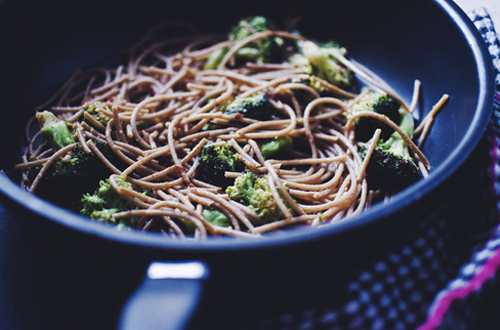 Eat: Simple Broccoli & chilli wholemeal pasta