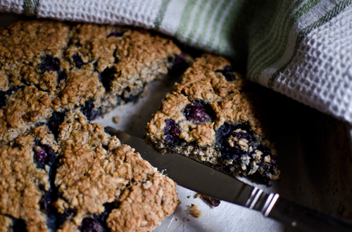Eat: Candy's blueberry, orange & coconut scones