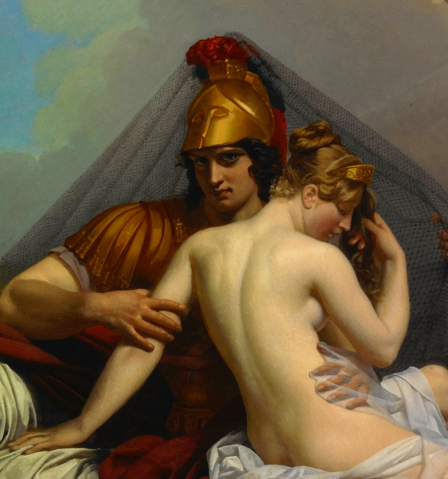 Mars and Venus Surprised by Vulcan ~ Guillemot, 1827