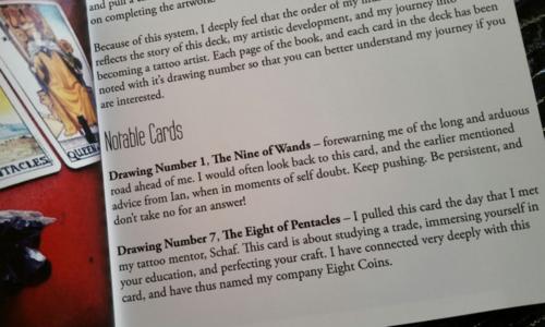 Tarot Tidbits — Exploring 78 Cards (Tattoo Tarot)