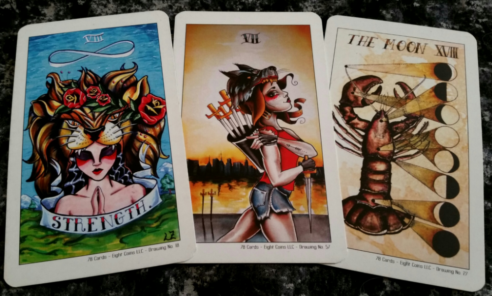 50a5561771e76 This is how I feel about the Tattoo Tarot deck created by Lana Zellner. Not  only does this deck resonate with me, but I rather like its plucky attitude  and ...