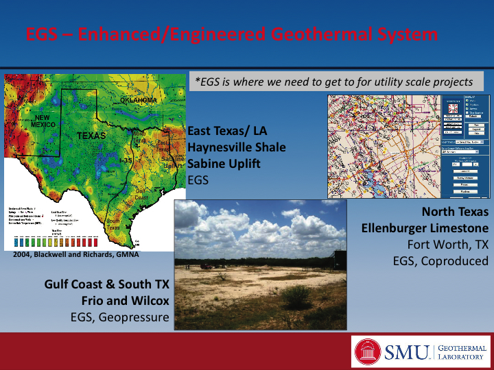 Roadmap To Developing Geothermal Energy In Texas East Texas - Texas roadmap
