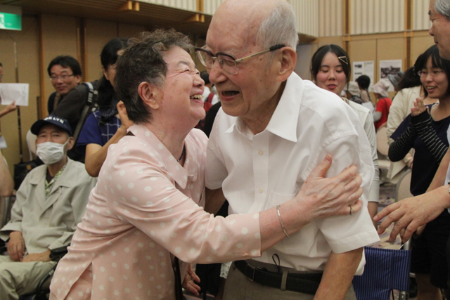 The Nihon Hidankyo - Japan's only organisation of atomic bomb survivors from both attacks - meet together for the last time on eve of the 70th anniversary of the attack on Hiroshima. With the oldest attendee aged 98 and the youngest aged 70, these men and women remain as the only persons to have ever experienced an atomic bomb attack.