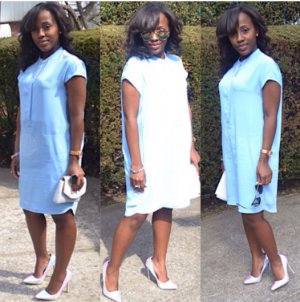 http://www.thecocogawdess.com/home/easter-sunday-outfit-blue-dress