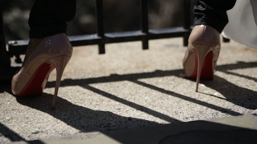 Shoes:  Christian Louboutin