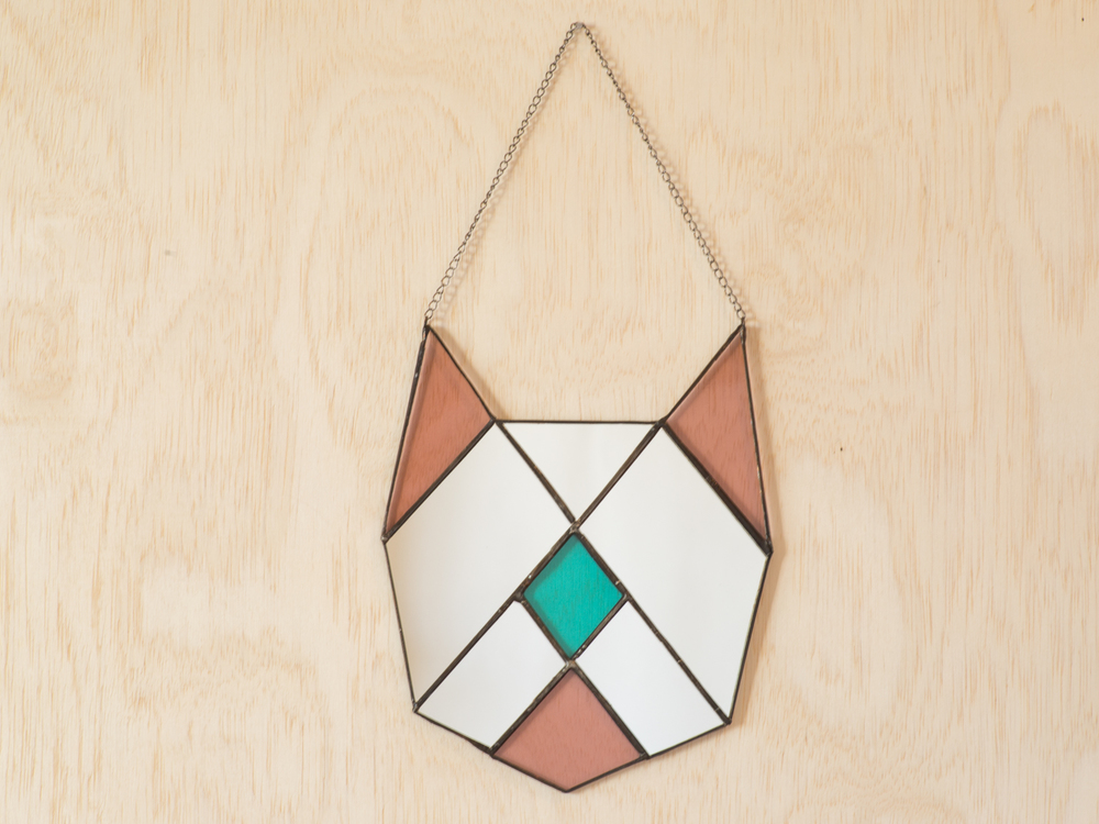 Heptagon Frankie Cat Mirror $78.00