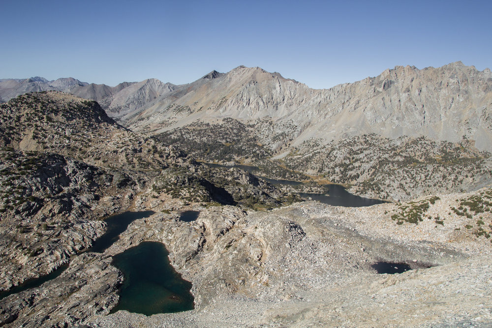 Northern view from Glen Pass