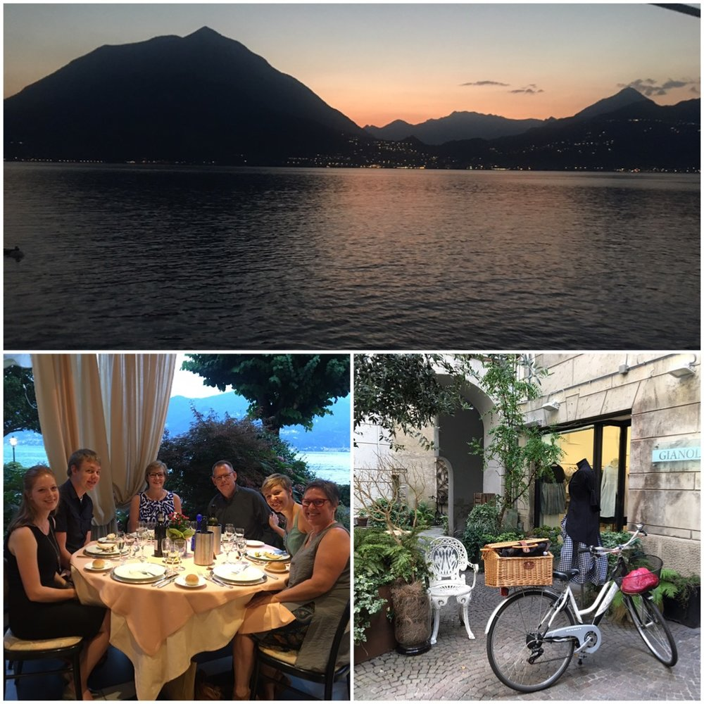 Milan and Lake Como Italy with the family