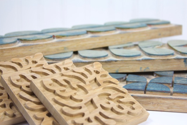 Made On 23rd Bamboo Printing Blocks