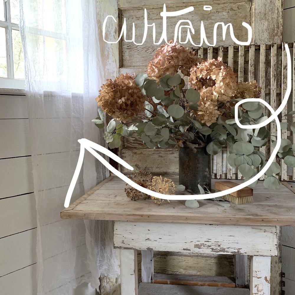 vintage still life hydrangeas eucalyptus countrylife @inspiringmaterial