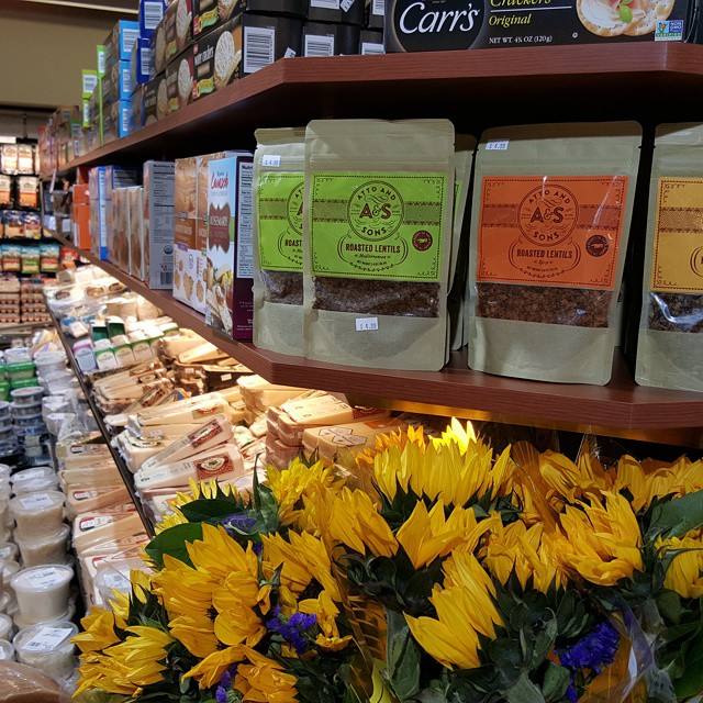 Where can you find #RoastedLentils at Market Square West Bloomfield?  How about taking your next vacation on cheese island!  Near all the cheeses in produce area.  Come and get it.
