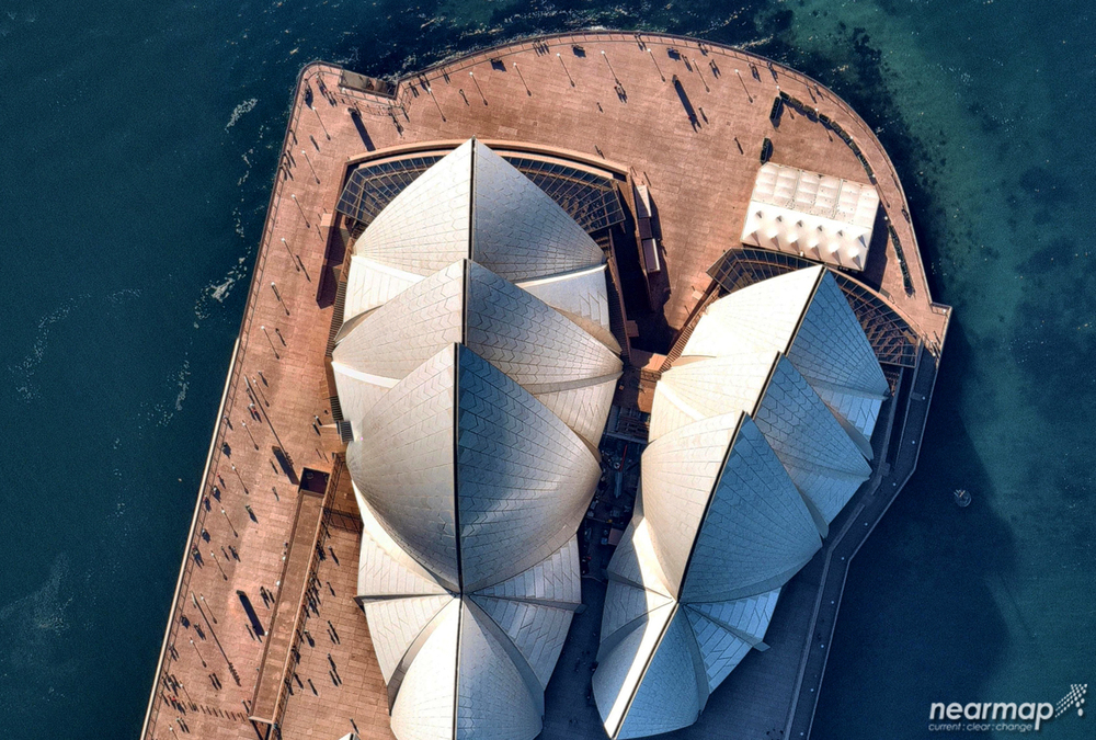 1. Sydney Opera House designed by Jorn Utzon. Sydney, NSW Australia