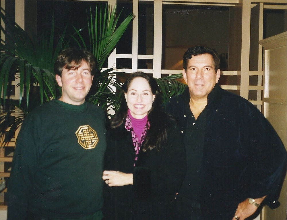 Katherine with Russ Hudson and Don Riso, IEA conference in San Francisco, CA 2000