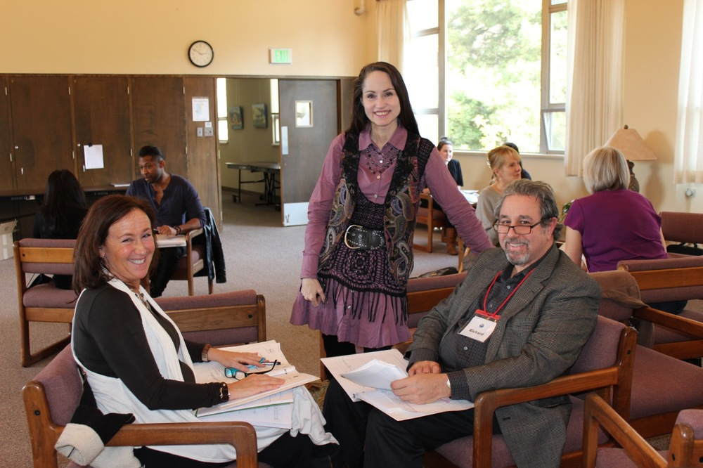 Katherine with Iris First and Richard Menashe at Epro I in Burlingame, CA 2012