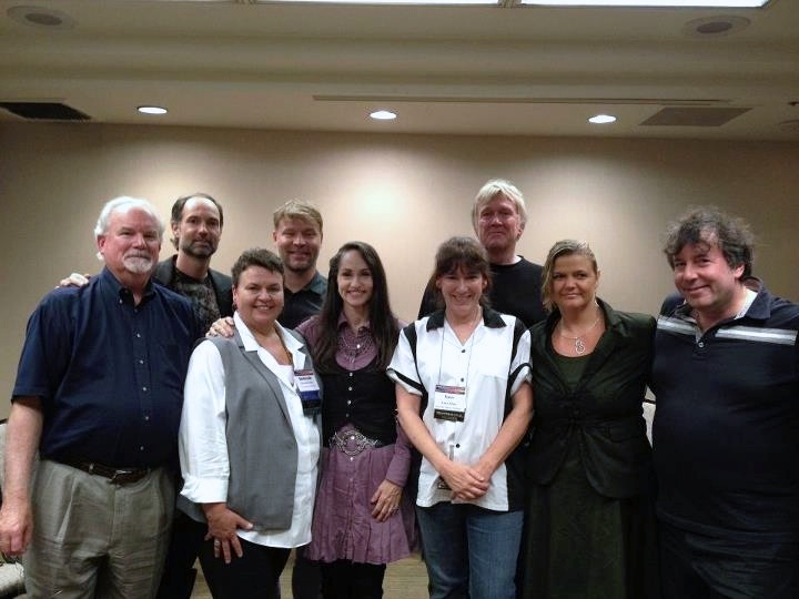 Katherine with David Daniels, Claus Roager Olsen, Tom Condon, Russ Hudson, Sandra De Clercq, Deborah Ooten, David Fauvre and Karen Adams at the IEA Conference in Denver, CO 2012