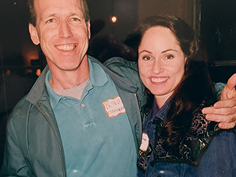 Peter and Katherine in 1995