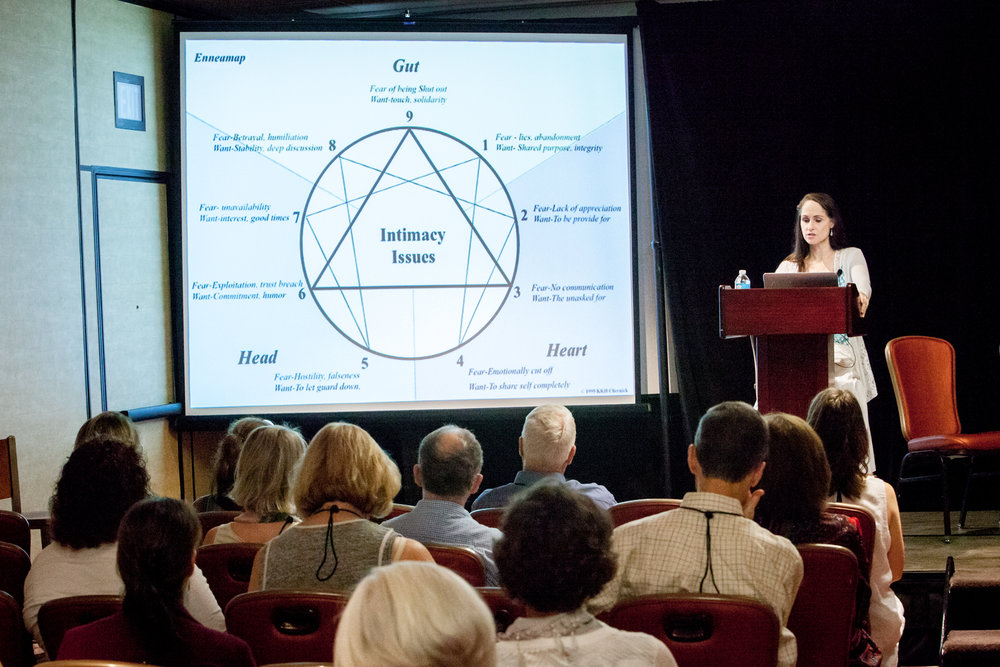 Katherine Fauvre IEA 2017 Enneagram, Instincts & Intimacy