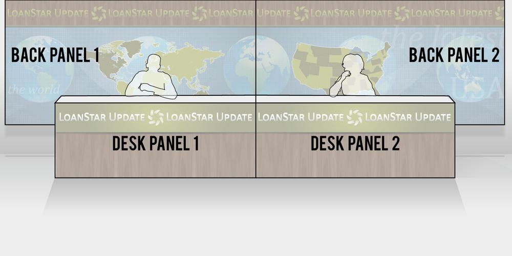Breakdown of panels involved.