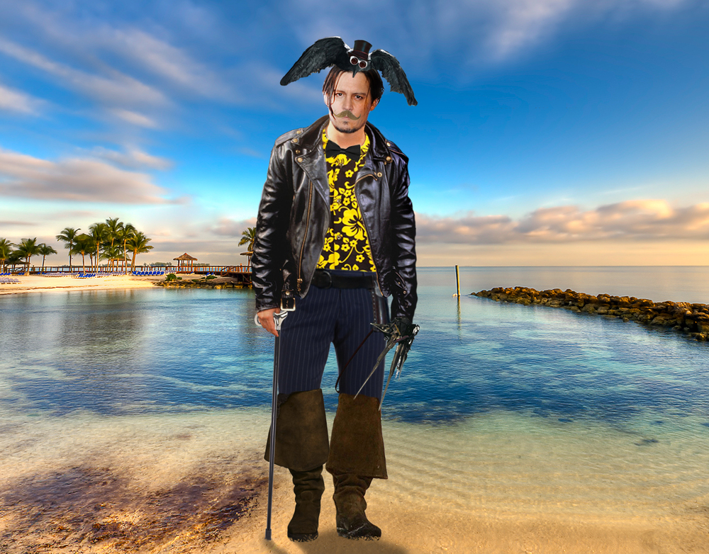Just How Wacky Will Johnny Depp Look at His Wedding?   - Yahoo Celebrity