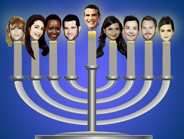 Happy Hanukkah, Celebrities Who Lit Up Our Year   - Yahoo Celebrity