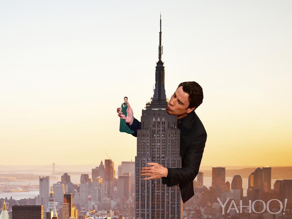 John Travolta Lurker Meme Creeps Its Way Through the Internet - Yahoo Movies