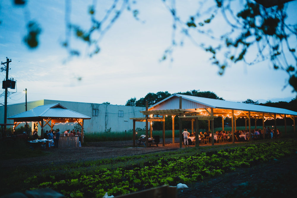 Event Pavilion and Chef Shed