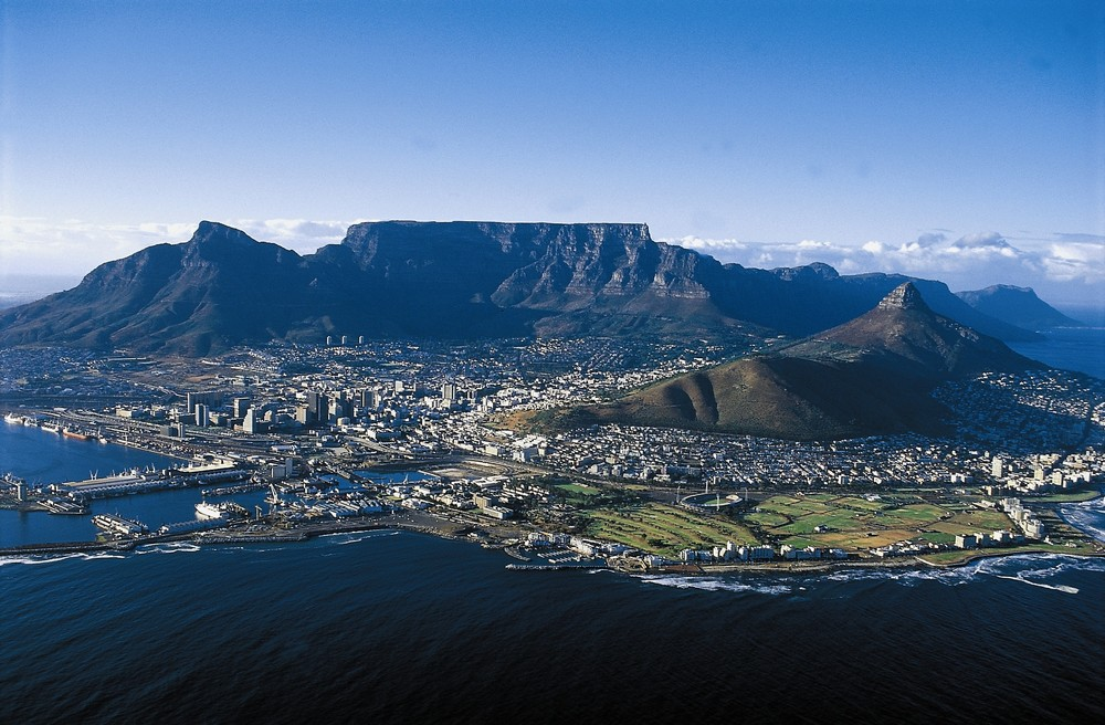 One of the most gorgeous cities on the planet; flanked by Table Mountain - one of the  new seven natural wonders  of the world.