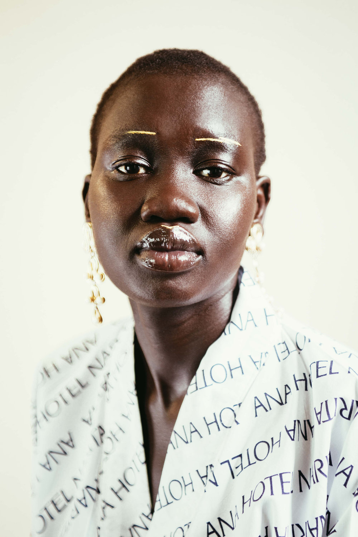 Photography & Styling | Model Nyibol Kuek | Make up by Frances Fraser