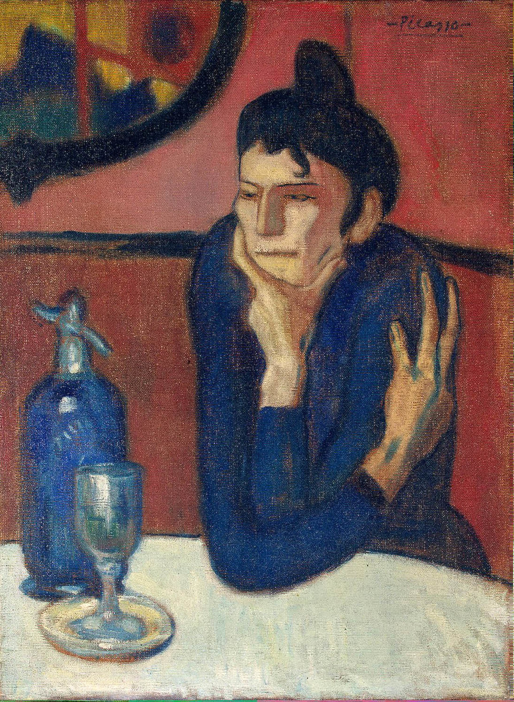 Woman drinking Absinthe - Picasso