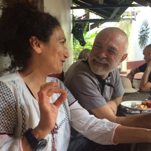 Cigdem Arsıray ' chi chi' who doesn't have a website I can promote for her trigger point massage because she likes to play it cool. And Ahmet Aytek, who follows a zero philosophy.