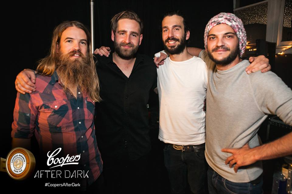 Left to right: Mango Hunter (bass), Fergus Linacre (vocals), Alex Laska (guitar), Justin Debrincat (drums).